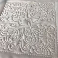 Stitch Delight: Feather Quilt Set All Design Sets, Quilting Stitch Patterns, Machine Quilting Patterns, Quilt Stitching, Quilt Patterns, Quilting Stencils, Longarm Quilting, Free Motion Quilting, Quilting Projects, Quilting Ideas