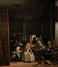 Las meninas. Esta obra la hizo Diego Velázquez y quedó acabada en en 1656. El estilo de la obra es Barroco. La he elegido porque es una obra española de las más conocidas, y desde mi punto de vista se merece tal reconocimiento. Aquí sí que aparece bien pintado hasta el perro.