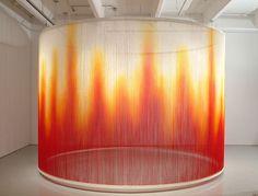 Teresita Fernandez, Fire, 2009