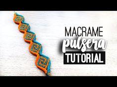 Macrame Art, Macrame Jewelry, Friendship Bracelet Patterns, Friendship Bracelets, Macrame Bracelet Tutorial, Yarn Bracelets, Micro Macramé, Bracelet Designs, Creations