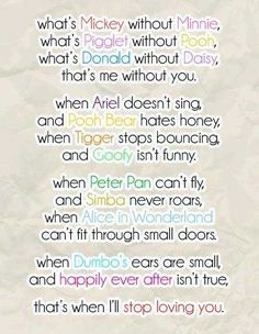 cute disney love quotes sayings sweet Friendship Quotes Disney Amor, Disney Cute, Walt Disney, Disney Poems, Disney Style, Disney Sayings, Cute Disney Quotes, Disney Quotes About Love, Disney Quotes To Live By