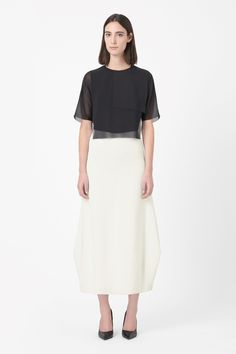 COS | Fine-knit pleated skirt