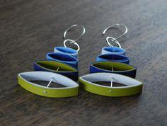 Modern Paper Earrings - Mobi