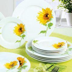 Jídelní servis Slunečnice, BANQUET  - 1 Banquet, Plates, Tableware, Kitchen, Licence Plates, Dishes, Dinnerware, Cooking, Plate