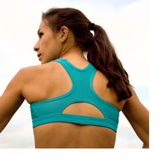 If exercising is causing breast pain, then it's time for a properly fitted sports bra.