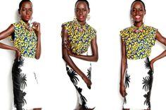 Sudanese-Australian model Ajak Deng representing RIVER ISLAND Australia (images: Melbourne Girl)