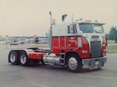 Freightliner Trucks, Peterbilt, Old Ford Trucks, Semi Trucks, Cab Over, Corn Flakes, Old Fords, Classic Trucks, Scale Models