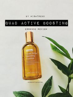 wishtrend quad active boosting essence review Fermented Honey, Beauty Review, Quad, Perfume Bottles, How Are You Feeling, Adventure, Perfume Bottle, Adventure Movies, Adventure Books
