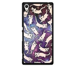 Cats Galaxy TATUM-2475 Sony Phonecase Cover For Xperia Z1, Xperia Z2, Xperia Z3, Xperia Z4, Xperia Z5
