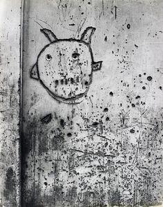 Graffiti de la Série VIII, La Magie - Brassaï © Estate Brassaï