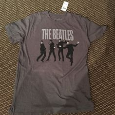 "Large Beatles tee Cute vintage top, ""The Beatles"" transmision Tops Tees - Short Sleeve"