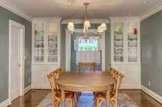 Dining Room Remodel Custom Built In Buffets Theworkspdx