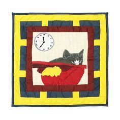 Cats Tale Cotton Throw Pillow