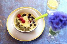 Jaglanka z awokado i bananem - 500 kcal | blog o zdrowym odżywianiu, odchudzaniu, racjonalne odżywianie, przepisy fit