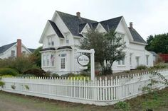 """Blair House Bed And Breakfast in Mendocino, California. This Inn was used as Jessica Fletcher's home in the television series """"Murder She Wrote"""""""