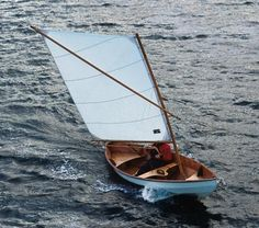 The Skerry design combines elements of traditional working craft of the British Isles and Scandinavia, with a little bit of American Swampscott Dory thrown in.