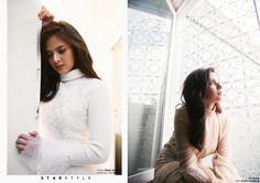 Age of Innocence featuring Bianca Umali - Star Style PH Filipina Actress, Star Fashion, Ph, Dancer, Turtle Neck, Actresses, Stars, Celebrities, Spotlight