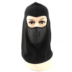 a0cdd7bdf6d43 Joymee Full Face Mask Hat Cover Cap Ski Mask Breathable Thin Outdoor  Windproof