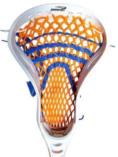 Stick Doctor Lacrosse Mesh Stringing Kit - Upstate (Orange/Royal Blue) : Amazon.com : Sports & Outdoors