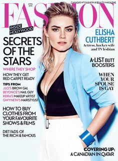 Introducing our April 2015 cover girl Elisha Cuthbert! Read a sneak peek of the story now.