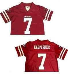 NFL Kaepernick San Francisco 49ers Brand New Size 3T Replica Football Jersey | eBay