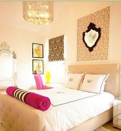 Dreamy feminine bedroom  #homedecorideas #bedroom #decoration