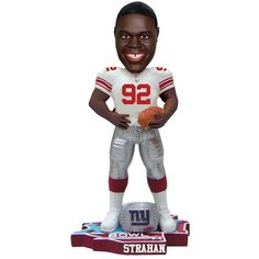 Michael Strahan New York Giants Super Bowl Champs Bobblehead