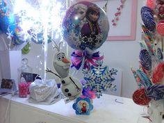 frozen Frozen Centerpieces, Frozen Decorations, Frozen Birthday, Frozen Party, 3rd Birthday, Party Tables, Olaf, Winter Wonderland, Balloons
