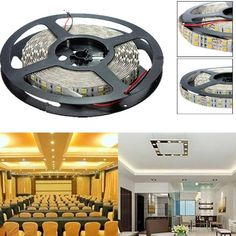 5M Double Row 600 SMD 5050 Non-Waterproof 12V LED Strip Light  Worldwide delivery. Original best quality product for 70% of it's real price. Buying this product is extra profitable, because we have good production source. 1 day products dispatch from warehouse. Fast & reliable shipment...