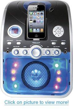 Ilive: Cd+g Karaoke System with Apple iPod, iPhone Dock IJP382B #Ilive: #Cd+g #Karaoke #System #Apple #iPod #iPhone #Dock #IJP382B