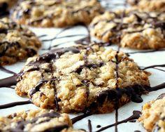 Schwedische Haferkekse Brownie Cookies, Cake Cookies, Cupcakes, Biscuits, Christmas Drinks, Vegan Sweets, Learn To Cook, Desert Recipes, Four