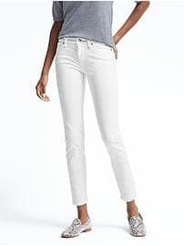 Stay White Skinny Ankle Jean.  Great wardrobe staple!  @bananarepublic