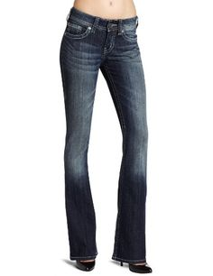 Silver Jeans Women's Suki Bootcut Jean $59.99 - Bootcut jeans are my fav! Love them with cute boots.