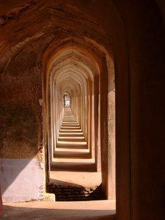 Bhulbhulaiya - The Labyrinth, Bada Imambara, Lucknow, India
