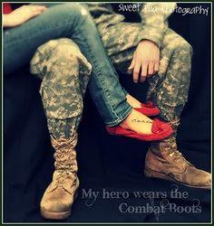 My hero wears the Combat Boots - MilitaryAvenue.com