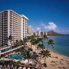 Outrigger Waikiki on the Beach- we stayed here back in the 80's and loved it! I want to go back!!