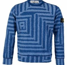 Stone Island Pattern Sweatshirt Blue Stone Island Pattern Sweatshirt Blue this contemporary and comfortable piece has a crew neck ribbed cuffs and a free flowing hem with signature sleeve badge logo which is detachable. Colour: Blue Fabr http://www.comparestoreprices.co.uk/designer-sweatshirts/stone-island-pattern-sweatshirt-blue.asp