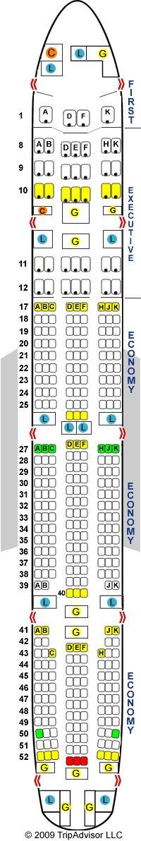 Ms De 1000 Ideas Sobre Boeing 777 300er Seating En Pinterest