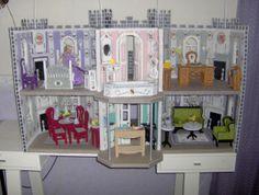 Fashion doll Dream Castle Plastic Canvas 2013