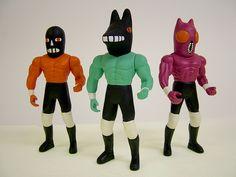 Wrestling Action Figures by Jack Teagle, via Flickr