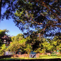 Praça para atividades esportivas, brincadeiras ou apenas para contemplar a linda paisagem da natureza!