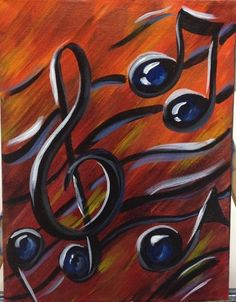♫♫♪'Music Notes' by ArtsyChatanooga.