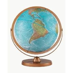 Globe-Geographical Features