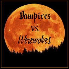 Vampires Vs. Werewolves non-Murder Mystery Party