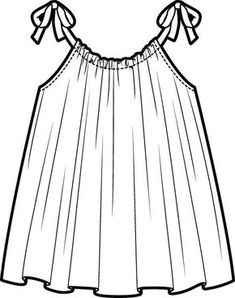 Flat illustration ◆F&I◆ – fashion Design Dress Design Sketches, Fashion Design Sketchbook, Fashion Design Portfolio, Fashion Illustration Sketches, Fashion Design Drawings, Fashion Sketches, Drawing Fashion, Design Illustrations, Flat Illustration