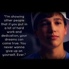 Austin Mahone Lets Me Learn A New Thing EveryDay.I Look Up To Him. :')