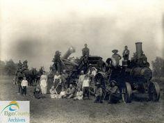 Threshing Party, Marshman Farm, 1914   Flickr - Photo Sharing!