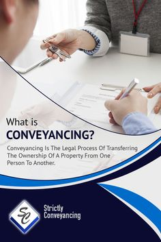 What is Conveyancing? - Conveyancing Is The Legal Process Of Transferring The Ownership Of A Property From One Person To Another. Sydney Area, Home Buying, Custom Homes