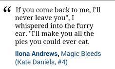 Kate Daniels, Ilona Andrews quote