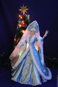 VK is the largest European social network with more than 100 million active users. Christmas Barbie, Christmas Angels, Barbie Dress, Barbie Clothes, Ooak Dolls, Art Dolls, Moda Barbie, Ice Queen Costume, Manequin